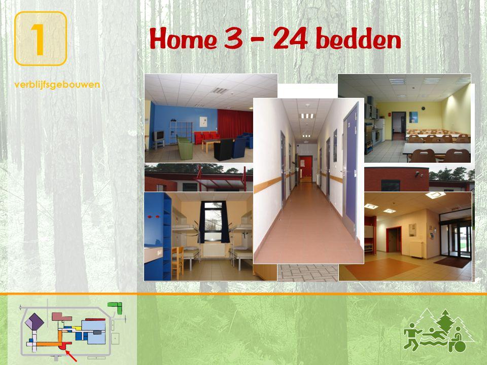 1 verblijfsgebouwen Home 3 – 24 bedden