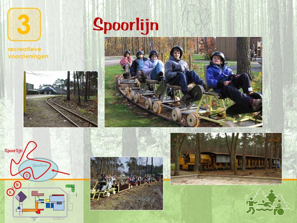 3 recreatieve voorzieningen K B S Speeltuin Spoorlijn