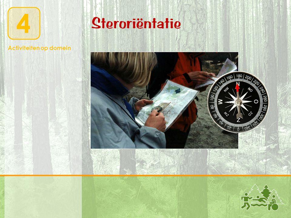 Activiteiten op domein 4 Steroriëntatie