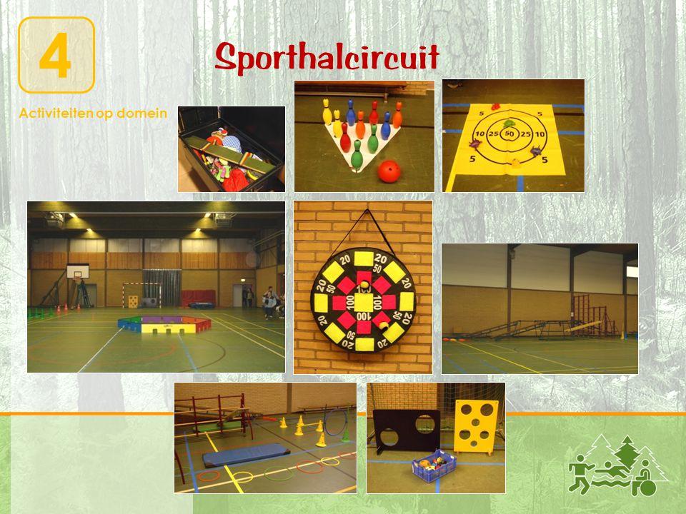 Activiteiten op domein 4 Sporthalcircuit