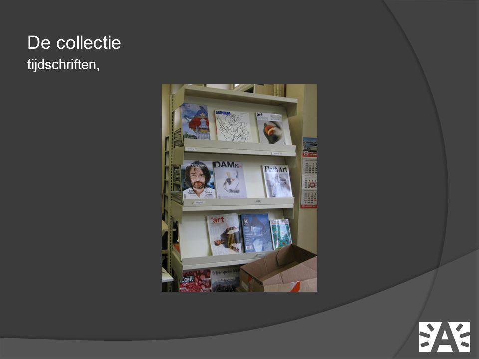 De collectie tijdschriften,