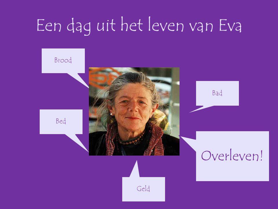 Een dag uit het leven van Eva Brood Bad Geld Bed Overleven!