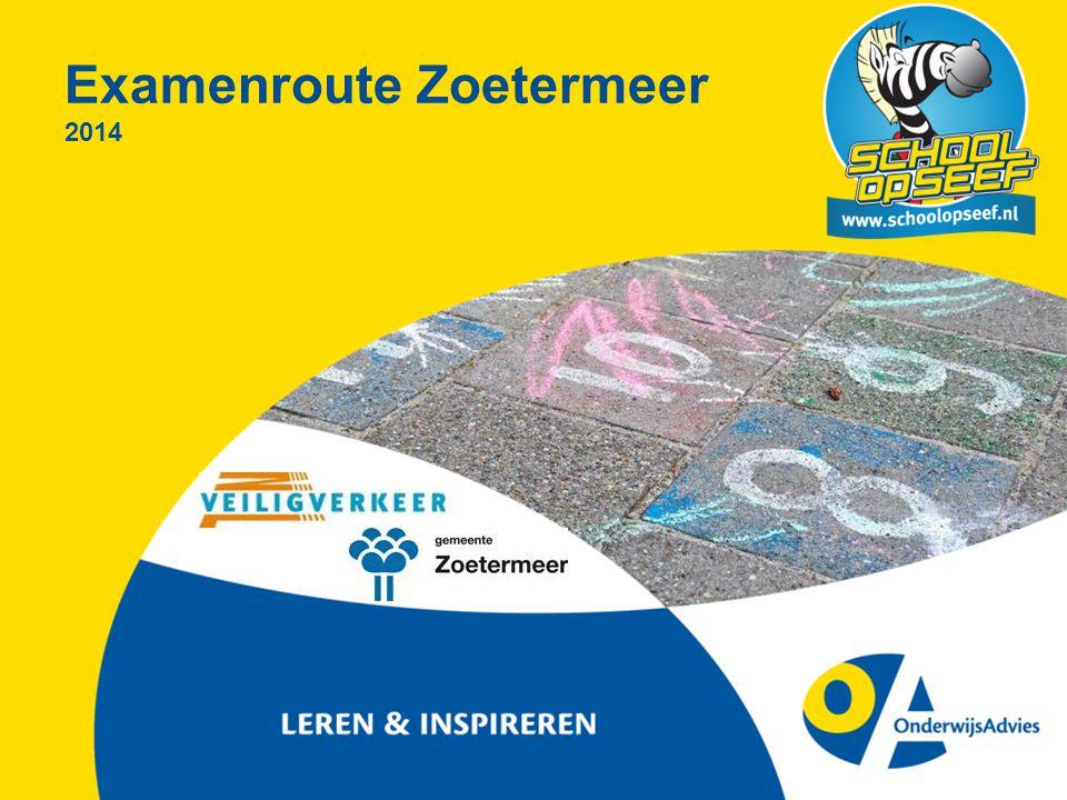 Examenroute Zoetermeer 2014