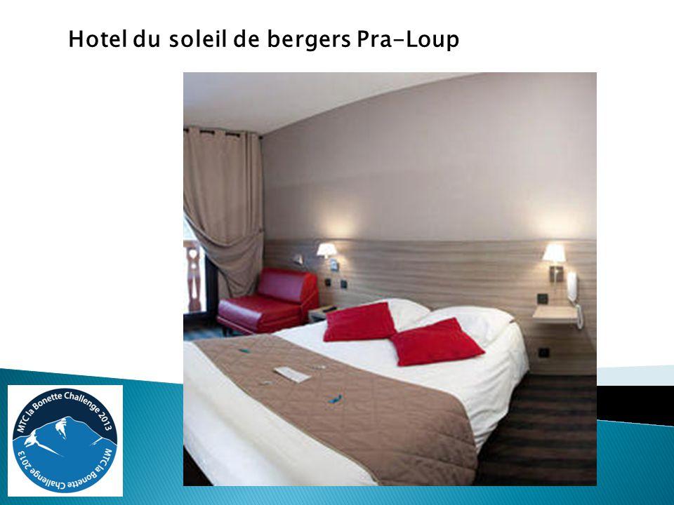 Hotel du soleil de bergers Pra-Loup