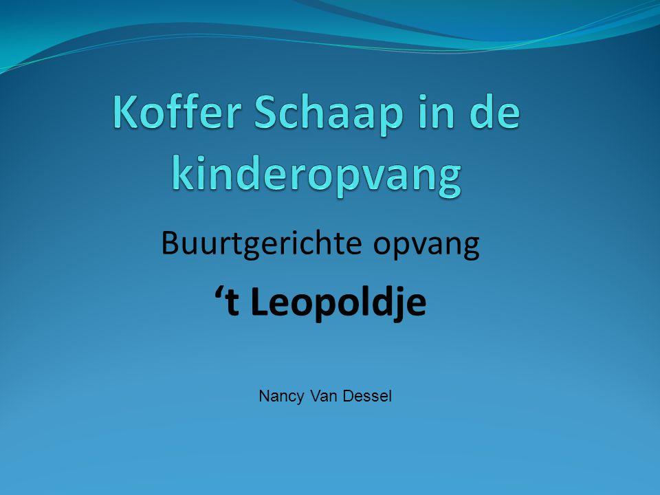 Buurtgerichte opvang 't Leopoldje Nancy Van Dessel