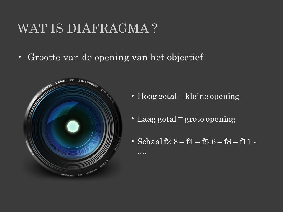 WAT IS DIAFRAGMA .