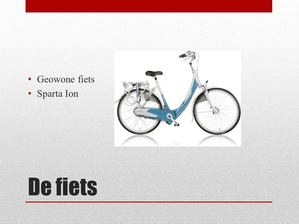De fiets • Geowone fiets • Sparta Ion