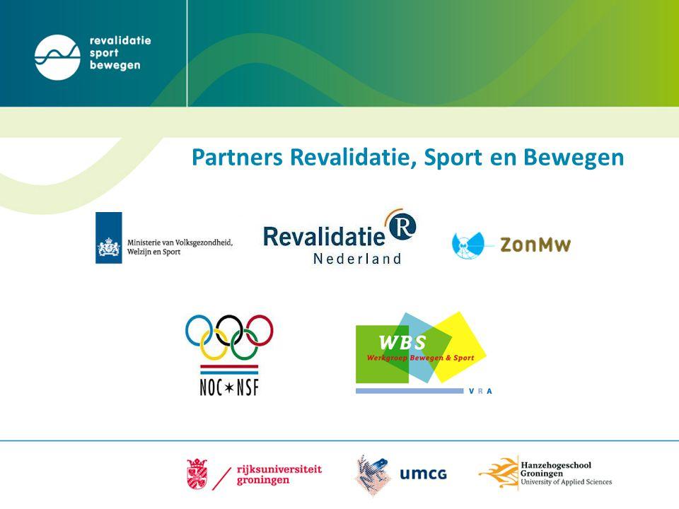 Partners Revalidatie, Sport en Bewegen