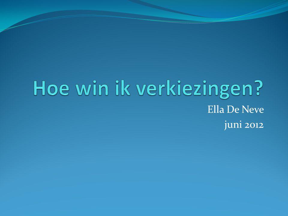 Ella De Neve juni 2012