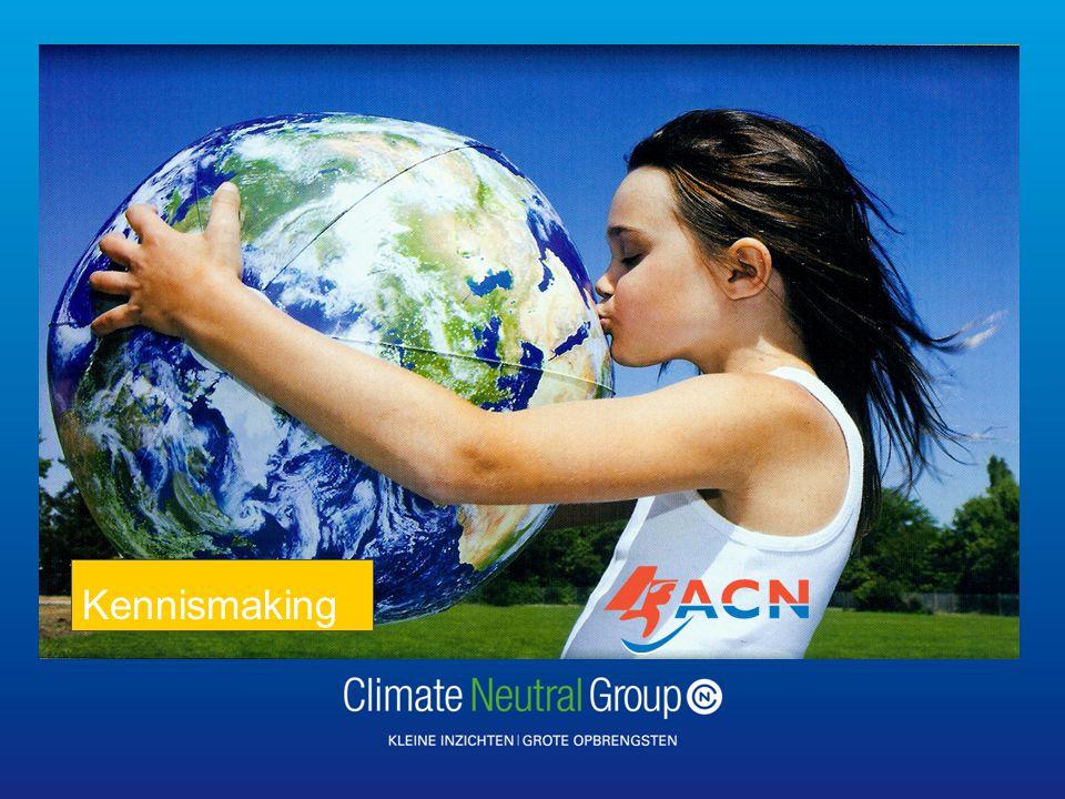 Hoofdstuk | pag Climate Neutral Group is een Social Venture • Onderneming zonder winstoogmerk met als doel voorkomen van klimaatverandering.