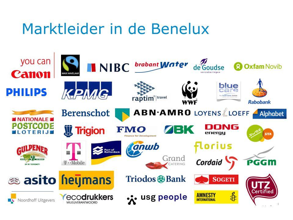 Hoofdstuk | pag Marktleider in de Benelux 3