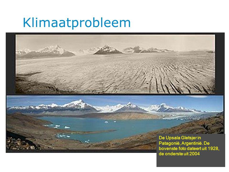 Hoofdstuk | pag Klimaatprobleem 5 De Upsala Gletsjer in Patagonië, Argentinië.