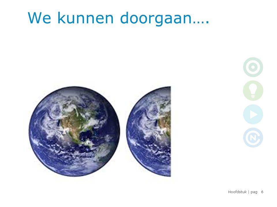 Hoofdstuk | pag De 4 stappen naar klimaatneutraal ondernemen 7 DOELINZICHTACTIE KLIMAAT NEUTRAAL