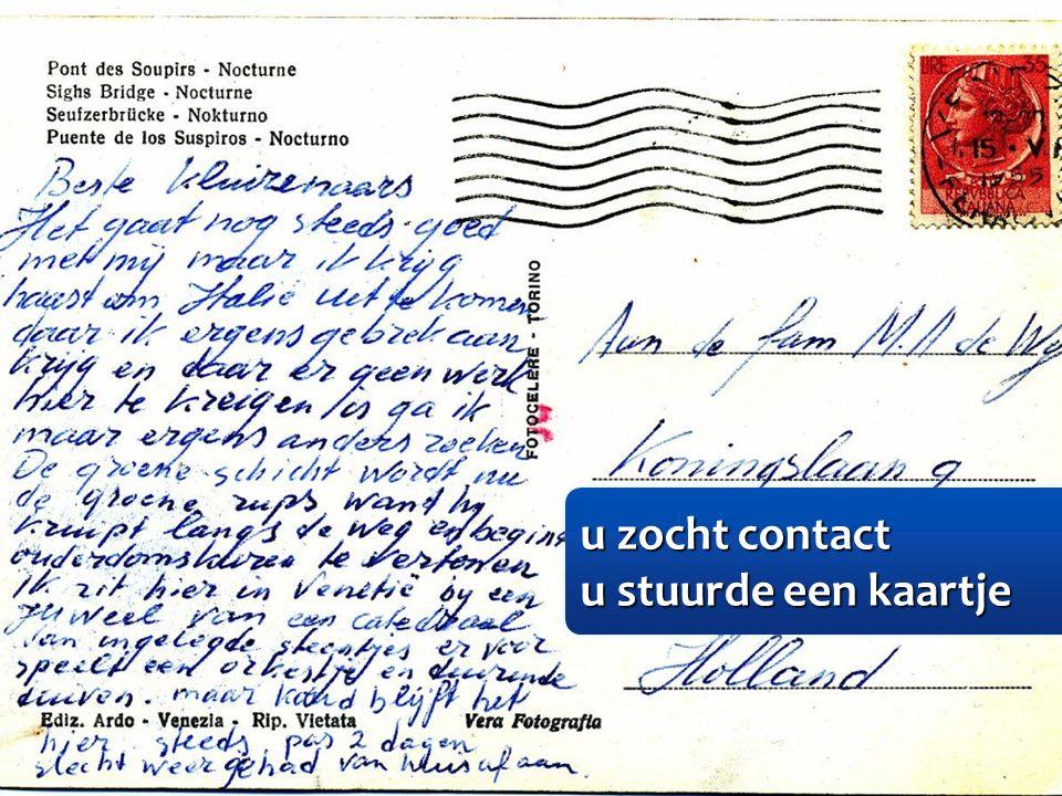 u zocht contact u zocht contact u stuurde een kaartje u stuurde een kaartje u zocht contact u zocht contact u stuurde een kaartje u stuurde een kaartje
