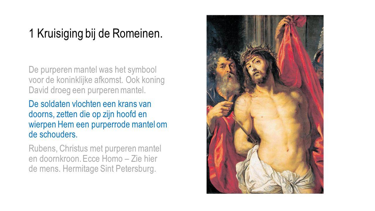 2 De dwaasheid van het kruis.Een spottekening voor Alexamenos.