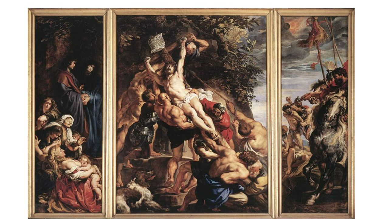 8 Legendes rond het Kruis.Jacob de Voragine Legenda Aurea Salomon velt de boom voor de tempel.
