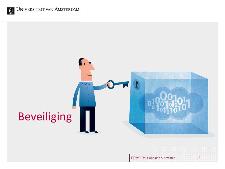 Beveiliging RDMO Data opslaan & bewaren12