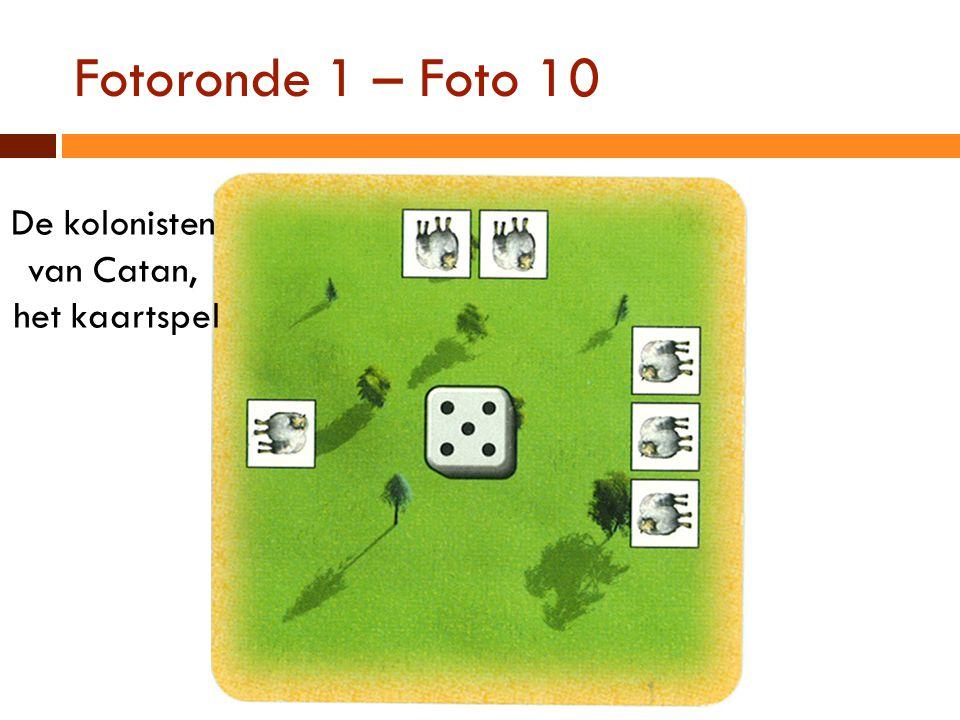 Fotoronde 1 – Foto 10 De kolonisten van Catan, het kaartspel