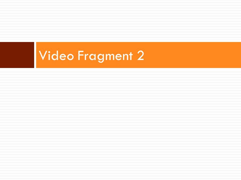 Video Fragment 2