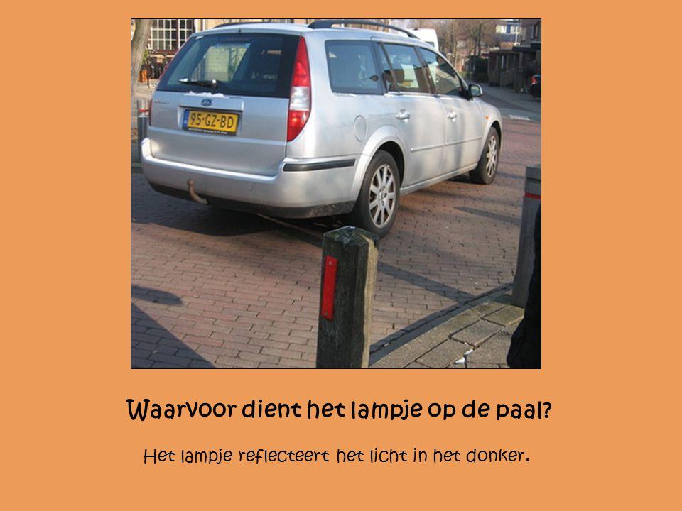 Mag iedereen hier parkeren? Nee, alleen de auto met dit nummerbord: 13-NR-BT