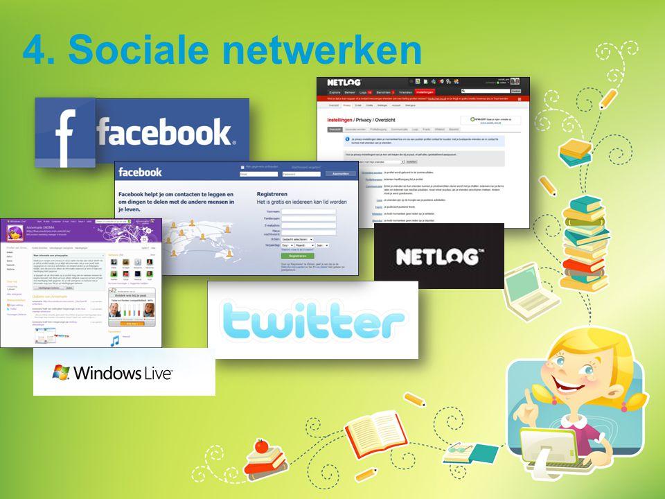 4. Sociale netwerken