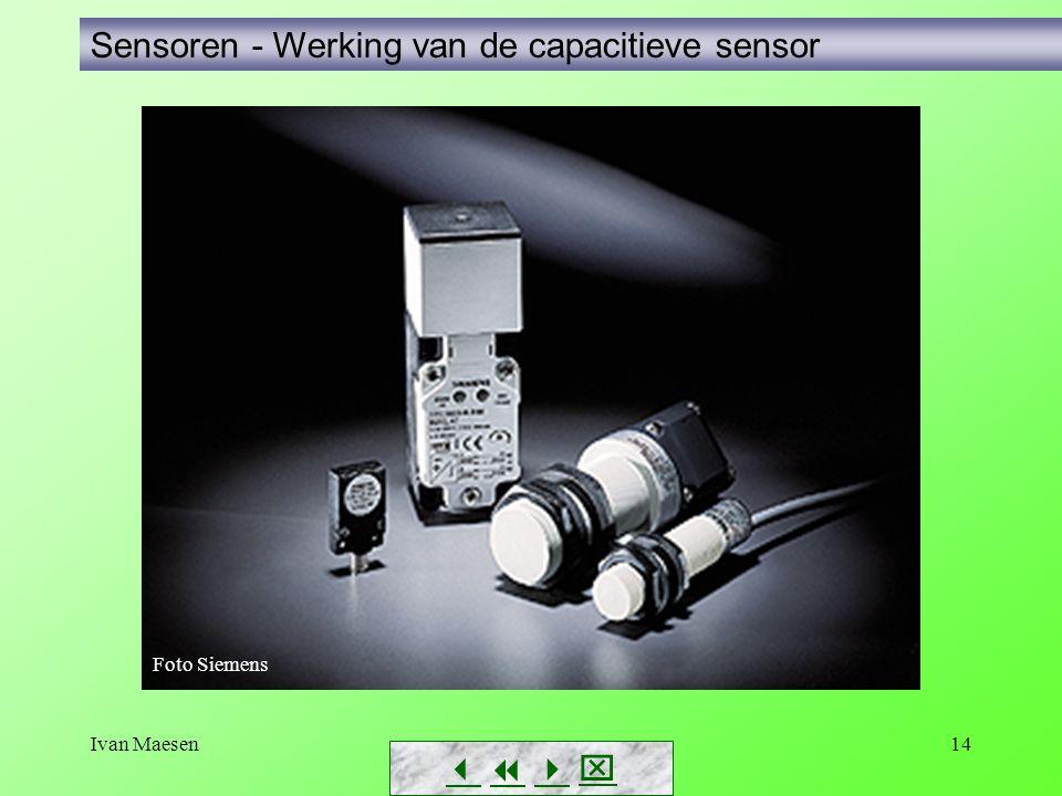 Ivan Maesen14 Sensoren - Werking van de capacitieve sensor        Foto Siemens