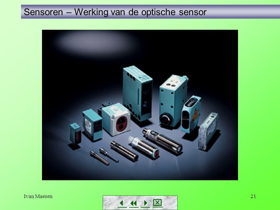 Ivan Maesen21 Sensoren – Werking van de optische sensor       
