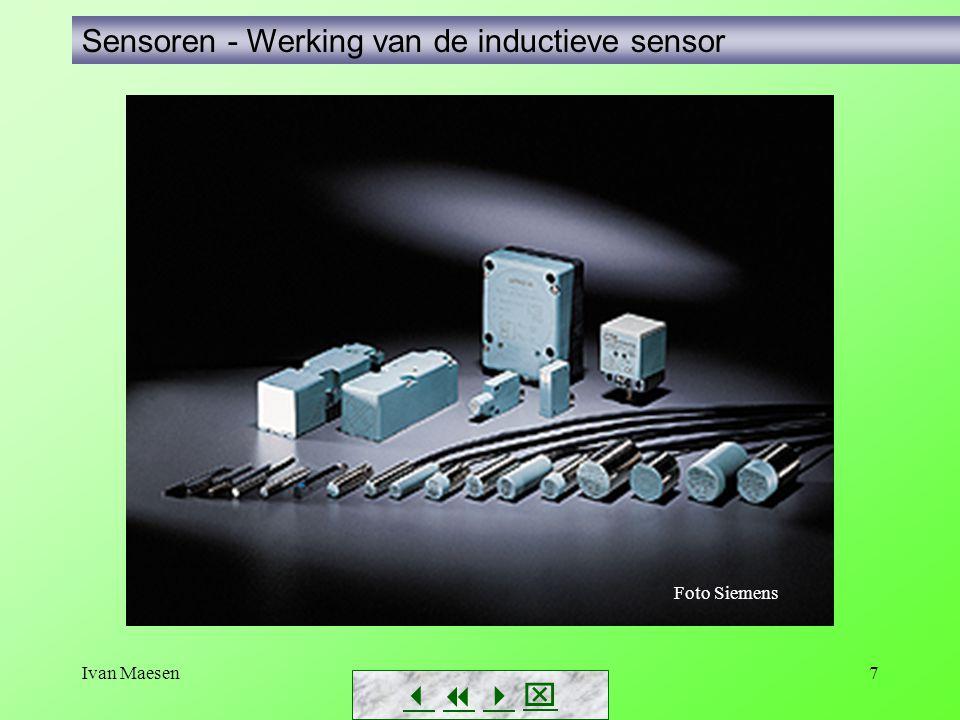 Ivan Maesen28 Sensoren ultrasone sensor        Foto's Siemens Eerst enkele toepassingsvoorbeelden… Niveaumetingen met sonar