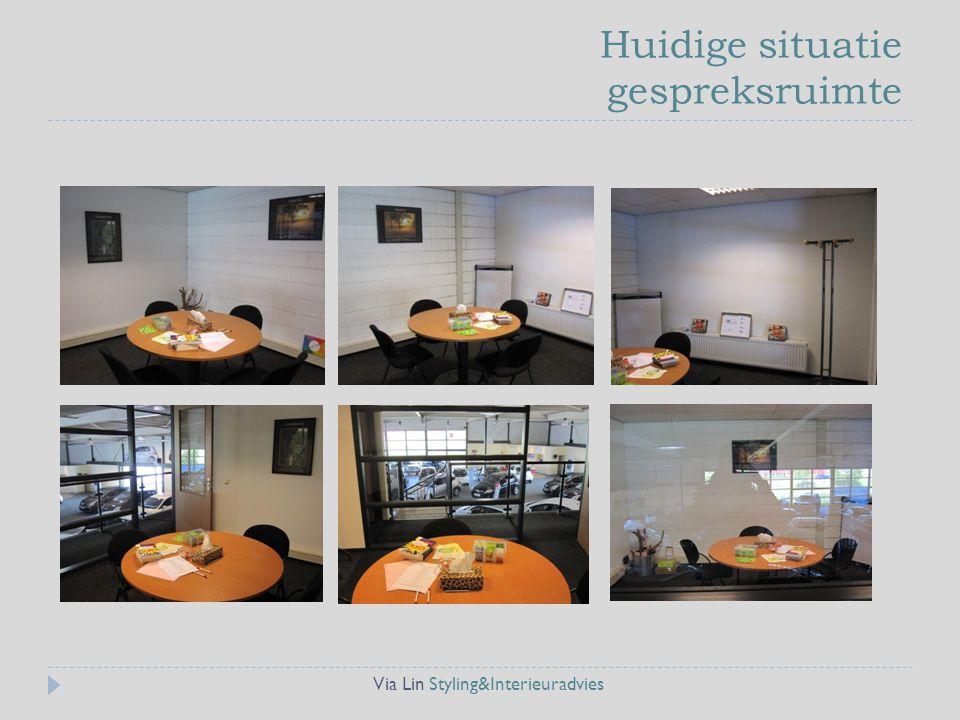 Huidige situatie gespreksruimte Via Lin Styling&Interieuradvies