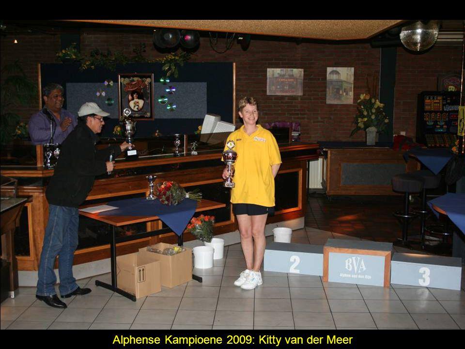 Alphense Kampioene 2009: Kitty van der Meer