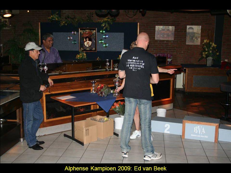 Alphense Kampioen 2009: Ed van Beek