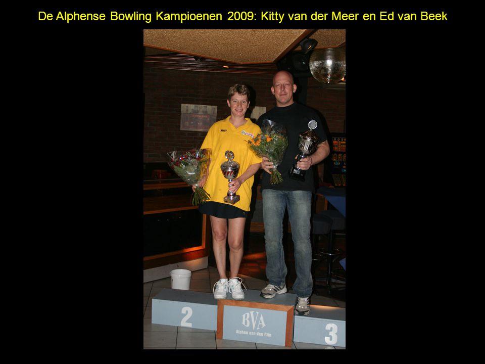 De Alphense Bowling Kampioenen 2009: Kitty van der Meer en Ed van Beek