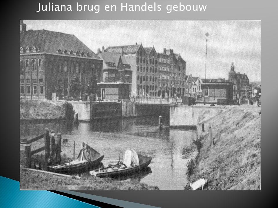 Juliana brug en Handels gebouw