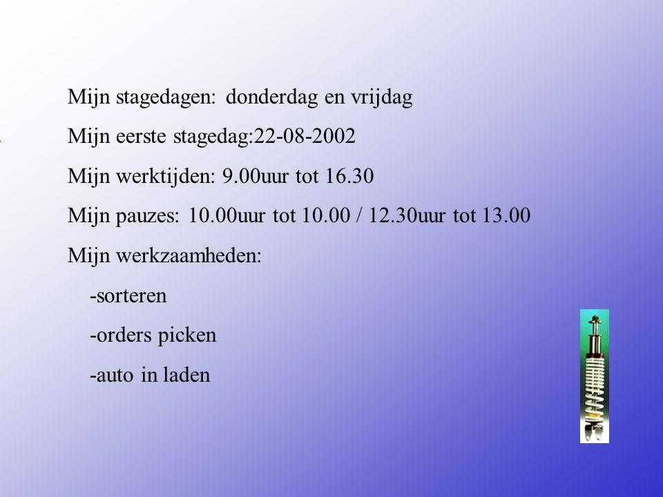 centuri is een magazijn in automaterialen Adres:emmerikstraat 8 Plaats:Deventer **Wat voor bedrijf is het ? Een bouwbedrijf Een magazijn Een autobedri
