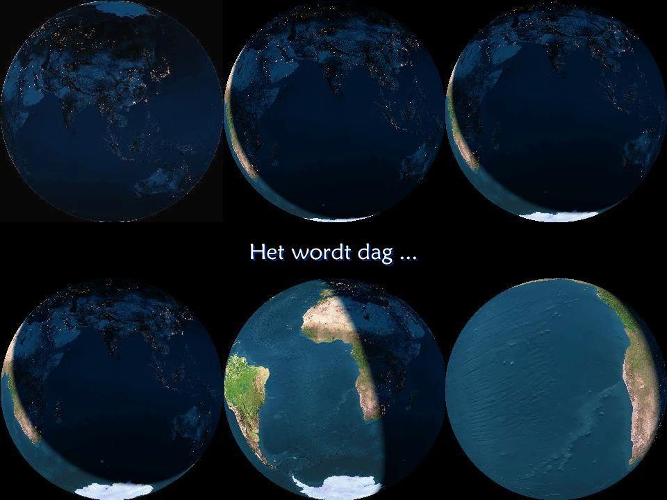 De nachtelijke verlichting op Aarde De nachtelijke verlichting op Aarde