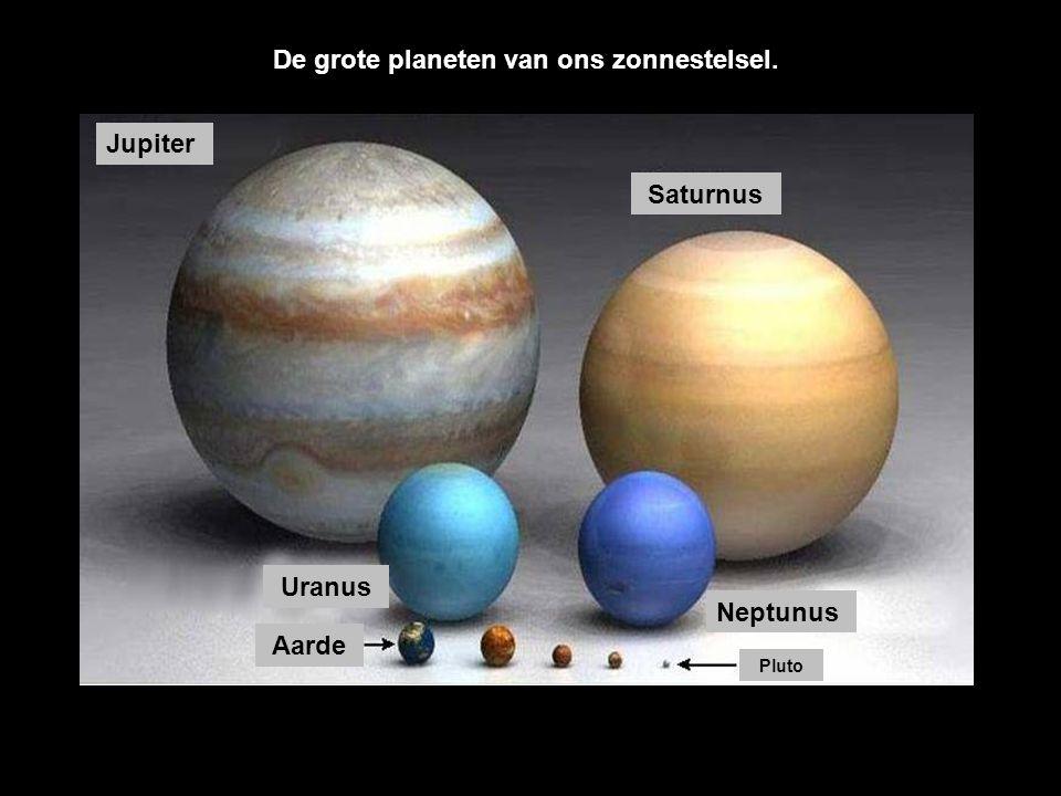 Aarde Pluto Mars Mercurius Venus De kleine planeten van ons zonnestelsel.