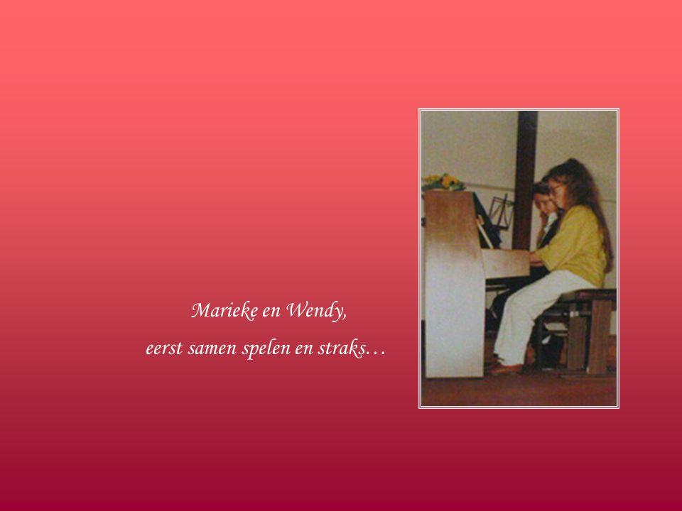 Pieter, het broertje van Marieke was onze jongste violist