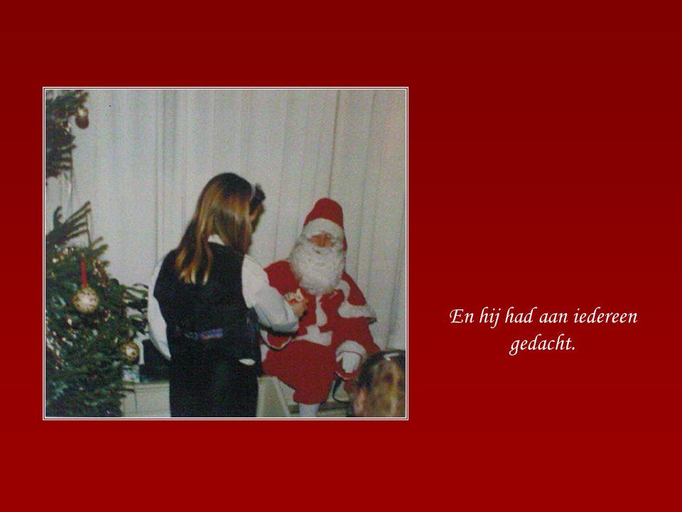 Na het spannende kerstverhaal kwam de kerstman!