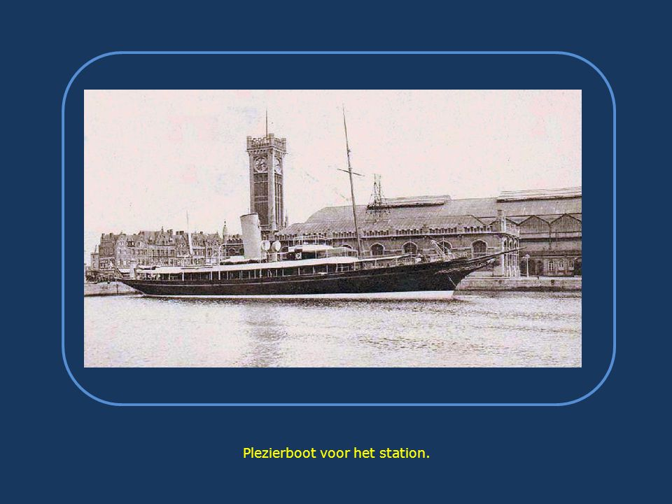 Het station in 1913.
