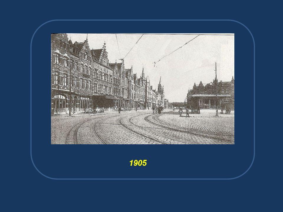 Het oude tramstation.