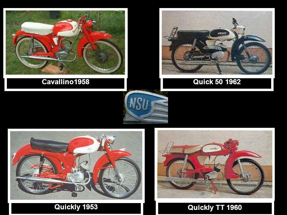 Cavallino1958Quick 50 1962 Quickly TT 1960 Quickly 1953