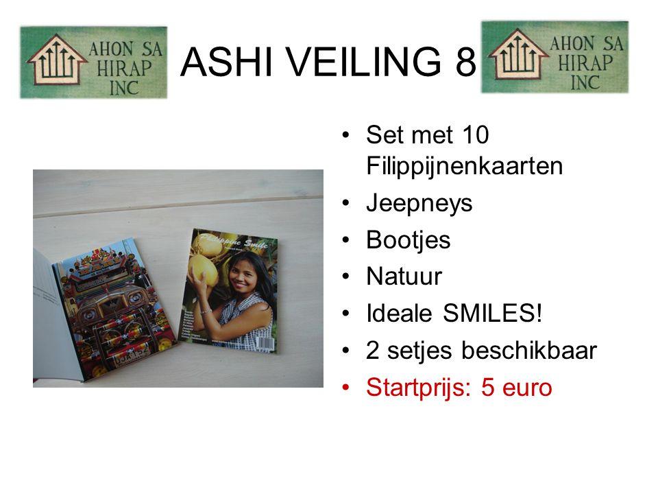 ASHI VEILING 8 •Set met 10 Filippijnenkaarten •Jeepneys •Bootjes •Natuur •Ideale SMILES.