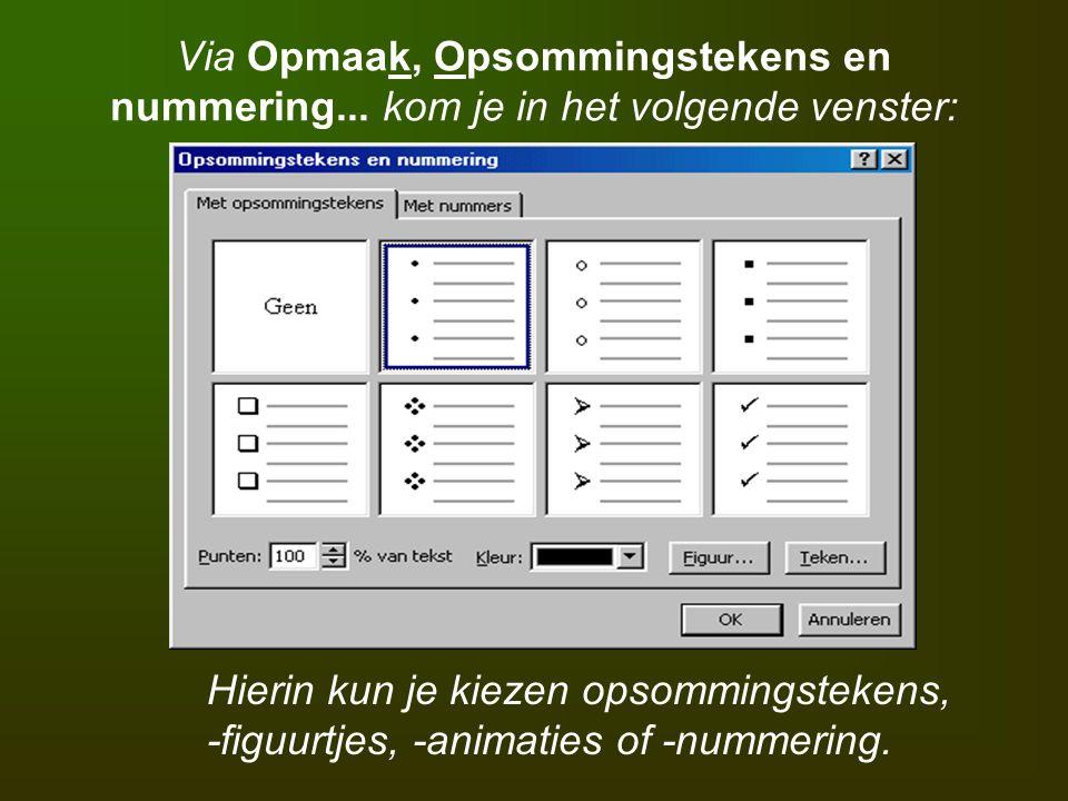 De knop Tekstvak wordt gebruikt om op een willekeurige plaats tekst te plaatsen.