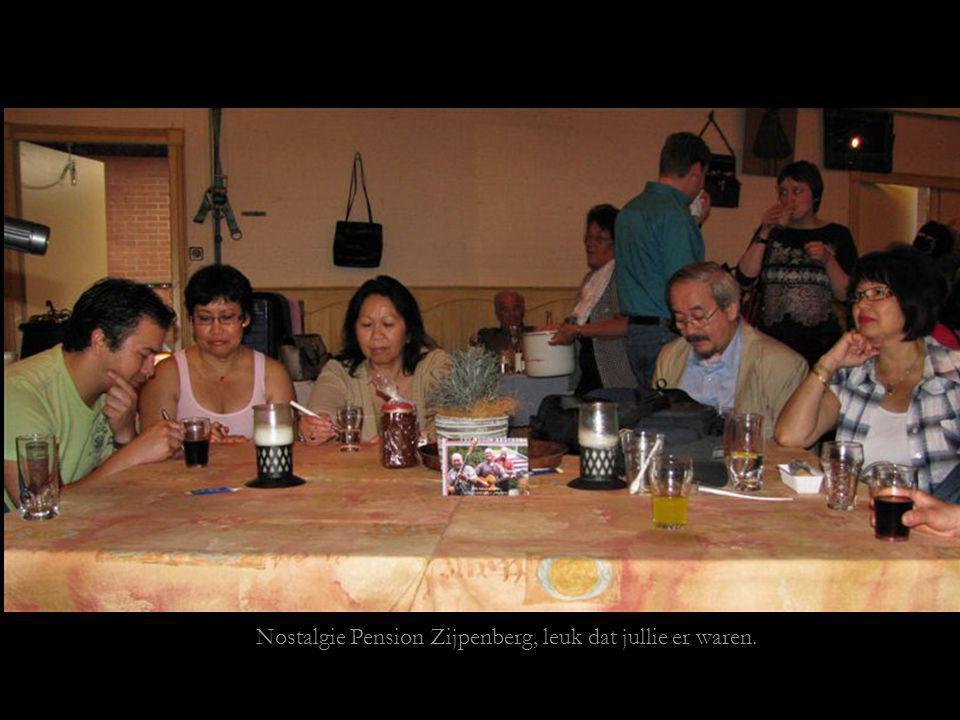 Nostalgie Pension Zijpenberg, leuk dat jullie er waren.