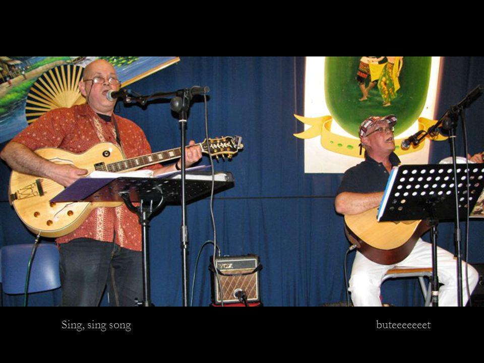 Sing, sing song buteeeeeeet