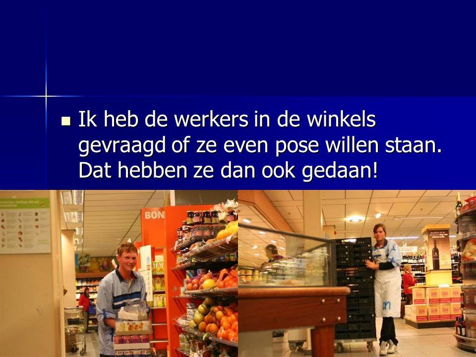 Ik heb hier veel foto's van de winkels in de Merenwijk gezet. Ik hoop dat u ze mooi vindt!