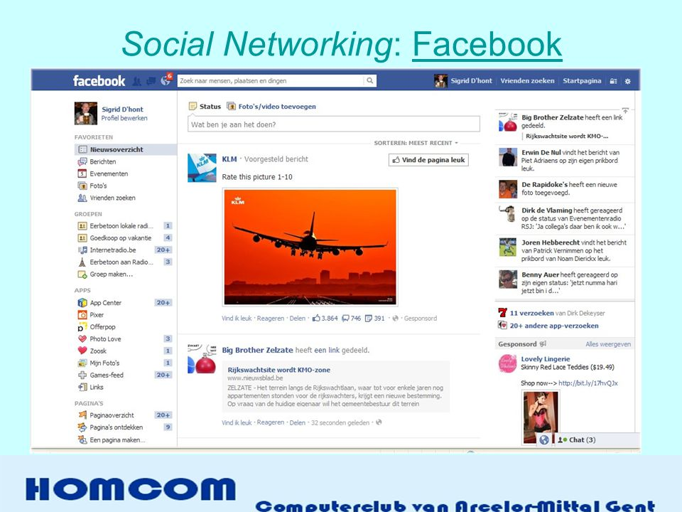 Social Networking: FacebookFacebook