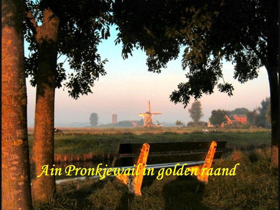 Ain pronkjewail in golden raand