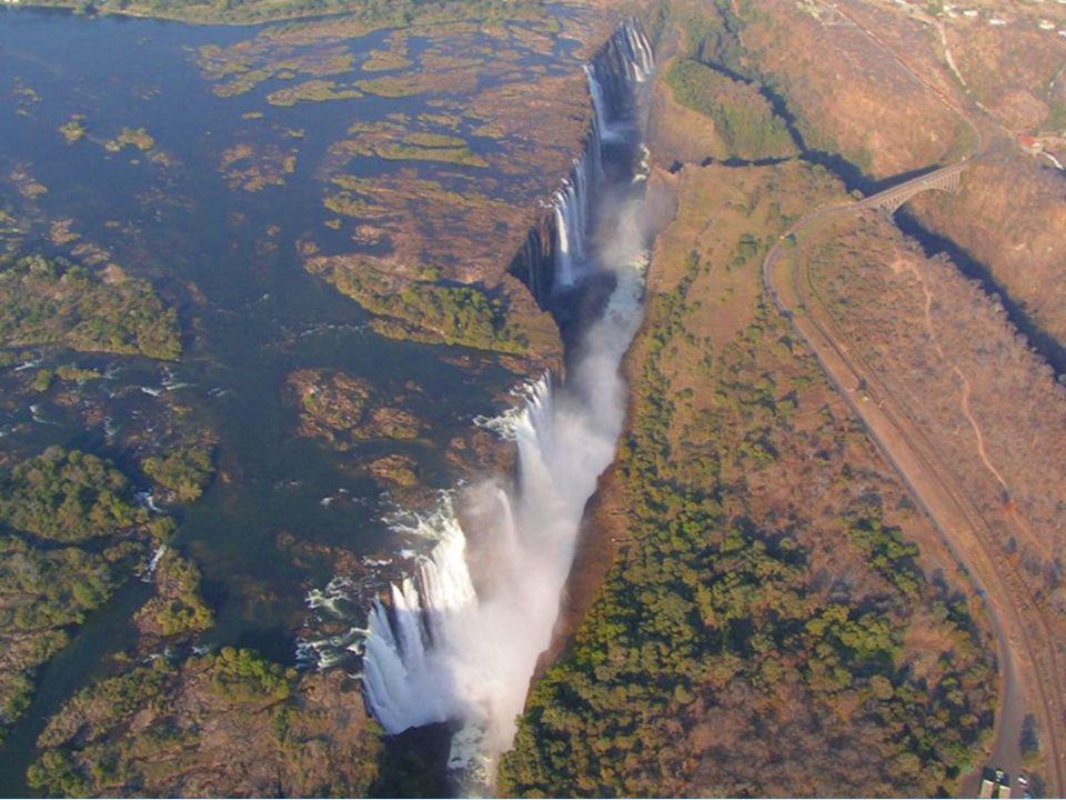 """Livingstone schreef laten over de watervallen: """"Geen enkel uitzicht in Engeland kan de schoonheid hiervan overtreffen"""