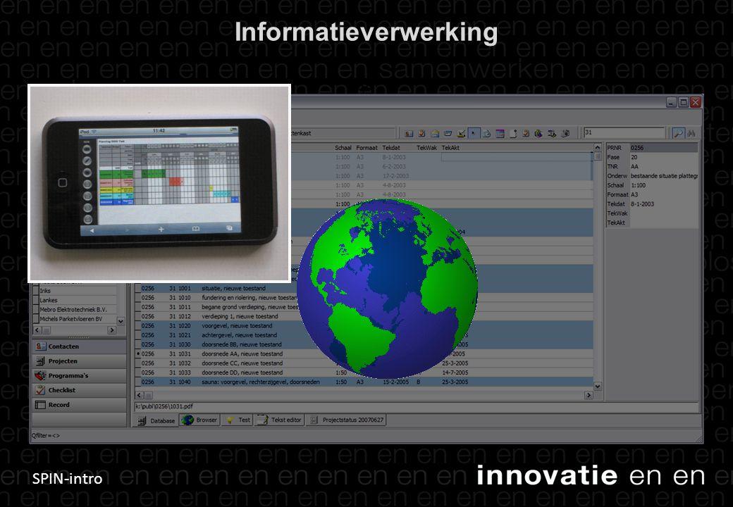 SPIN-intro Informatieverwerking 35 Snel publiceren